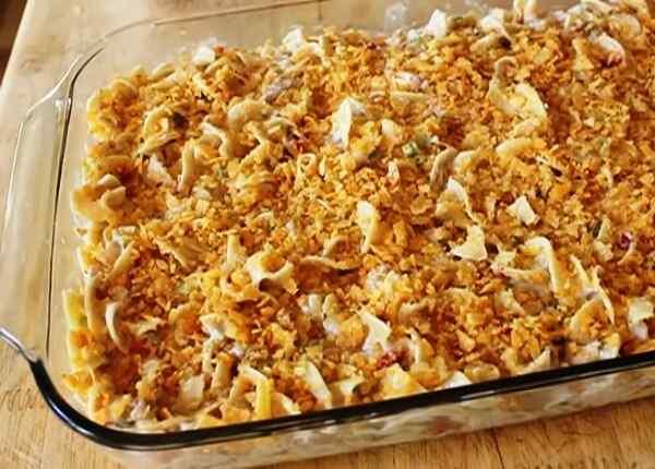 Рецепт макаронной запеканки в духовке