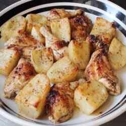 Жаркое из курицы с картошкой рецепт с фото
