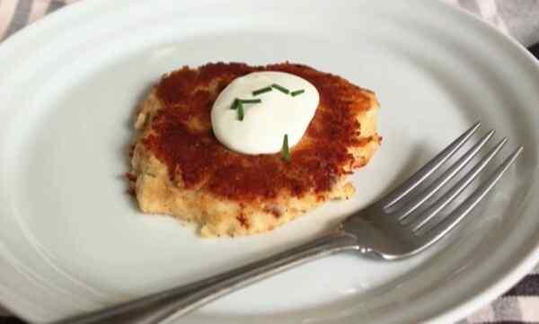 Котлеты из пюре картофельного рецепт с сыром