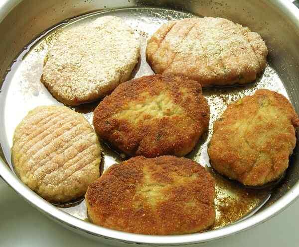Котлеты из куриного фарша рецепт в духовке