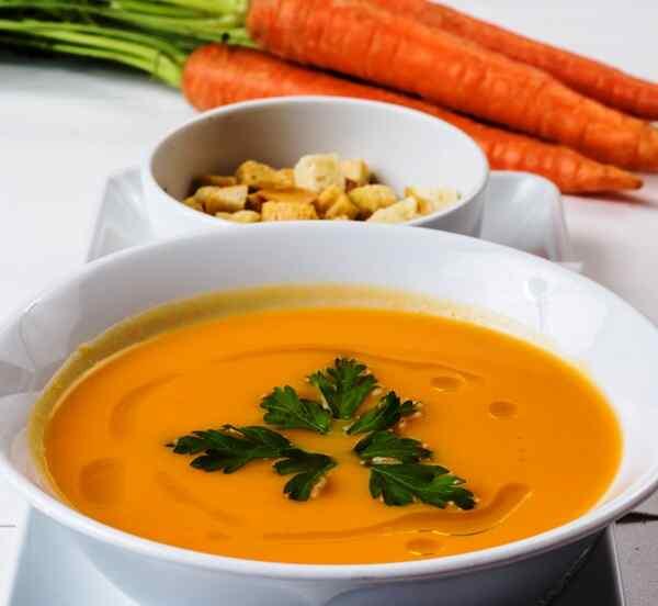 Морковный суп пюре постный рецепт