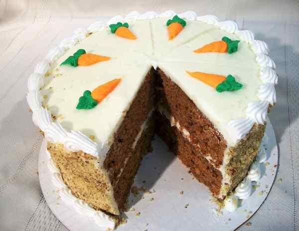 Морковный торт классический
