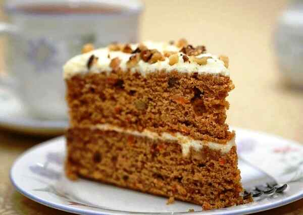 Морковный торт классический рецепт с фото