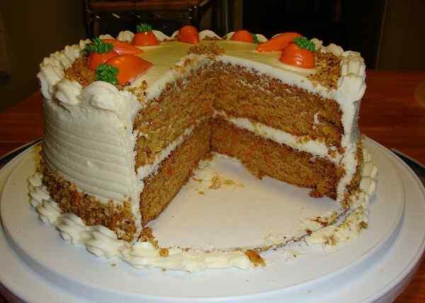 Морковный торт классический рецепт с орехами