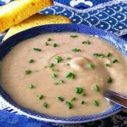 Суп пюре из цветной капусты со сливками