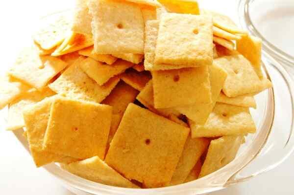 Сырные крекеры рецепт