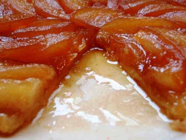 Французский тарт татен
