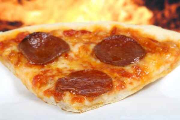 Тесто на воде на пиццу