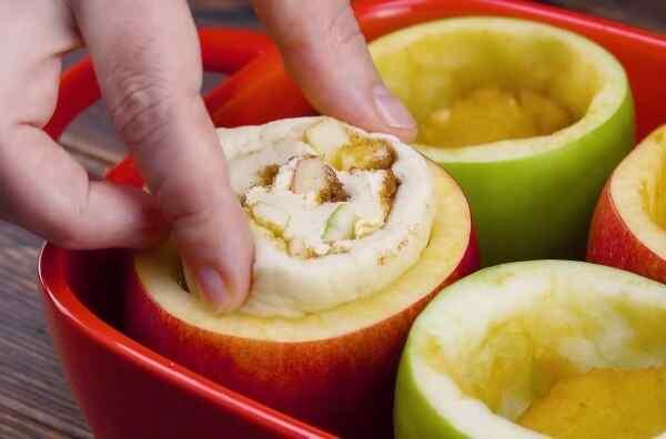 Яблоки запеченные в духовке с сахаром рецепт