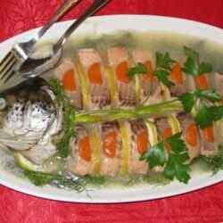 Рецепт заливного из рыбы