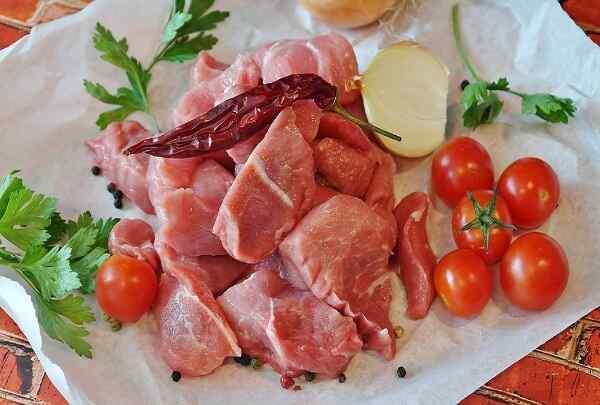 Мясо тушеное с овощами рецепт с фото