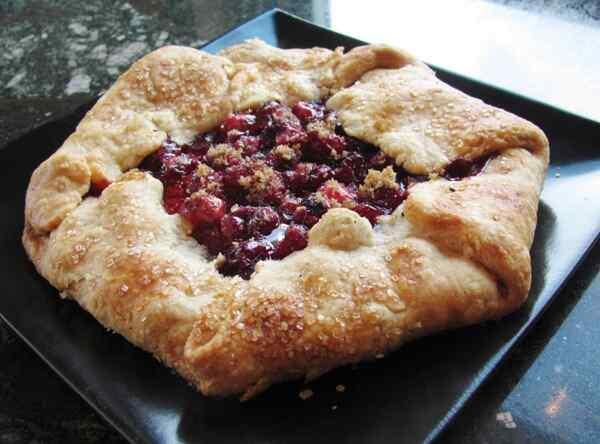 Пирог с ягодами замороженными рецепт с фото
