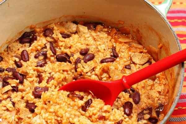 Стручковая фасоль с рисом рецепты