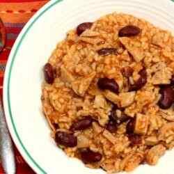 Рис с фасолью рецепт