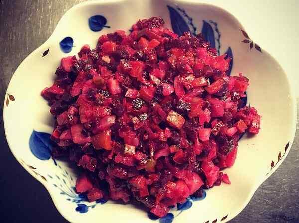 Салаты из свеклы вареной рецепты простые
