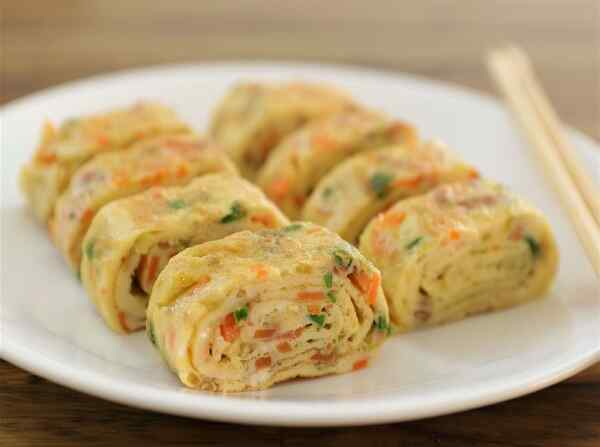 Омлет с овощами рецепт на сковороде