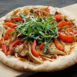 Постная пицца рецепт в домашних условиях