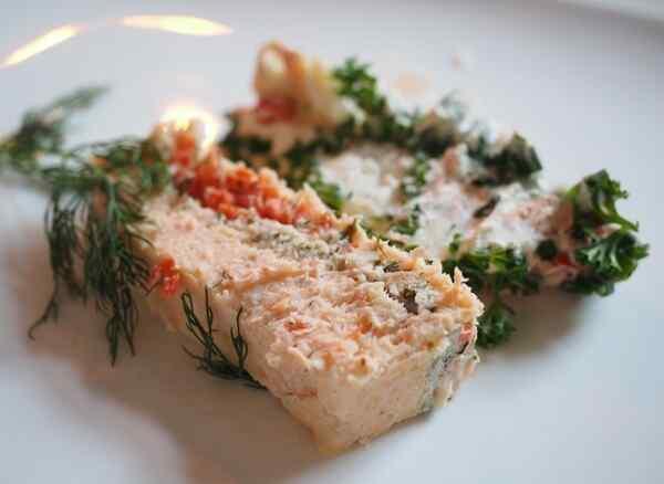 Террин из лосося рецепты с фото