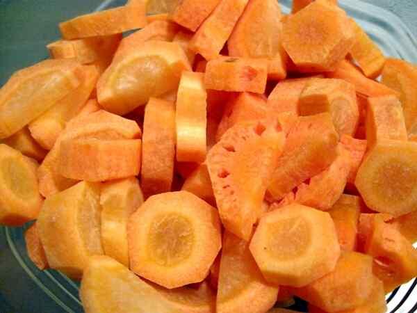 Блюда из вареной моркови рецепты