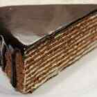 Торт медовик шоколадный Спартак