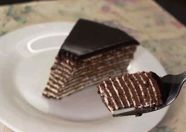 Рецепт торта спартак в домашних условиях