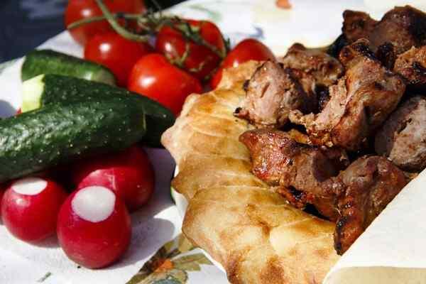 Шашлык из шеи свинины маринад самый вкусный