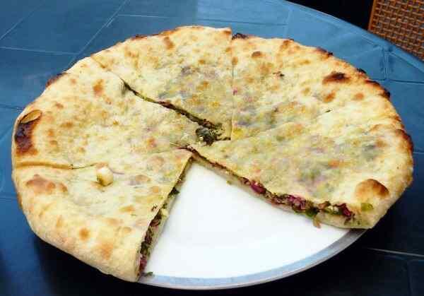 Хачапури с сыром на сковороде рецепт быстрый