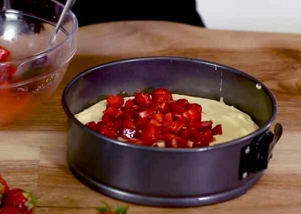 Клубничный пирог простой рецепт в духовке