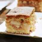 Рецепт бисквитного пирога с яблоками