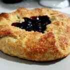 Пирог галета с черешней рецепт