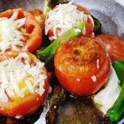 Фаршированные помидоры с сыром и чесноком рецепт