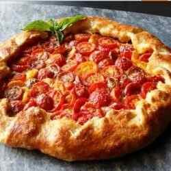Рецепт пирога с помидорами и сыром