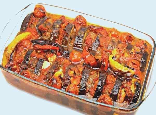 Запеченные баклажаны в духовке рецепт с помидорами