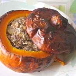 Фаршированная тыква запеченная в духовке рецепты приготовления