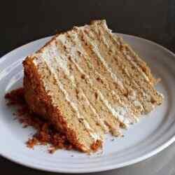Простой рецепт медового торта без раскатки коржей