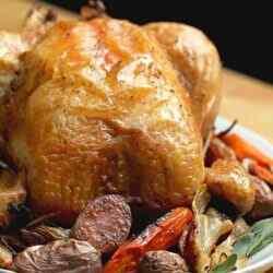 Красиво запеченная курица в духовке с корочкой