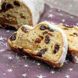 Рождественский кекс штоллен классический рецепт