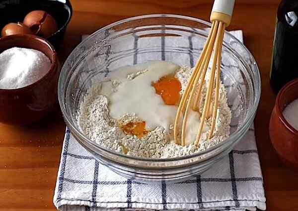 Тесто на тонкие блинчики