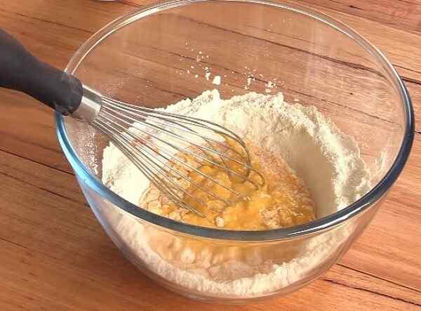 Рецепт блинов на кефире с кипятком ажурные
