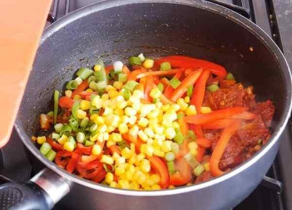 Рецепт джамбалайя с сосисками