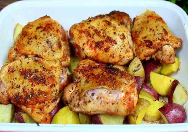 Курица в соусе в духовке рецепт