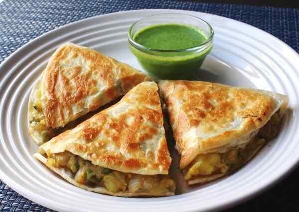 Самосы индийские рецепт