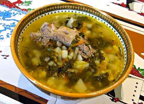 Щавелевый суп рецепт классический с яйцом пошаговый