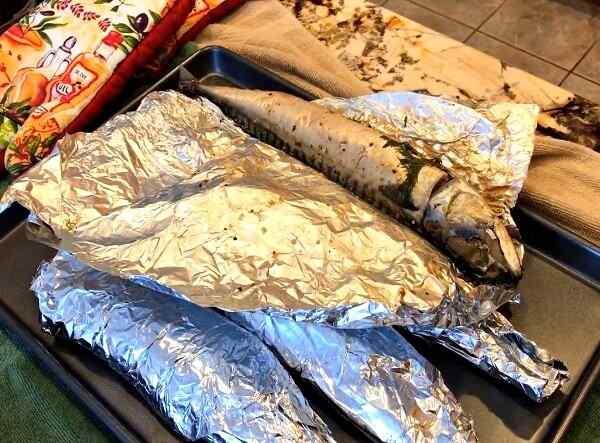 Приготовить скумбрию с картошкой в духовке вкусно