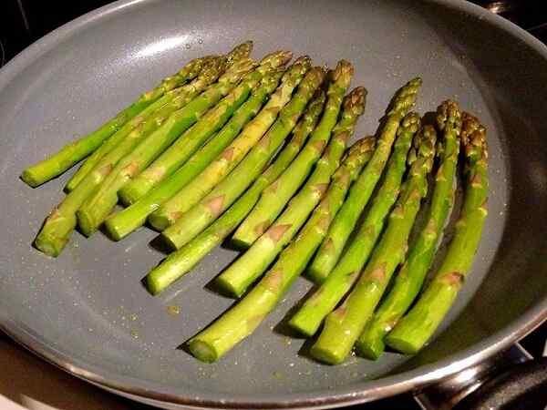 Спаржа как приготовить свежую зеленую