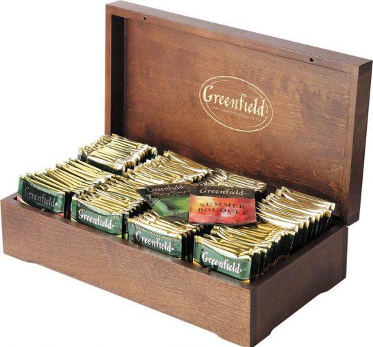Чай Greenfield по оптовой цене