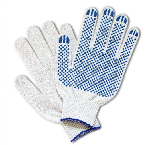 Удобные и универсальные защитные ХБ перчатки 7, 5 класса