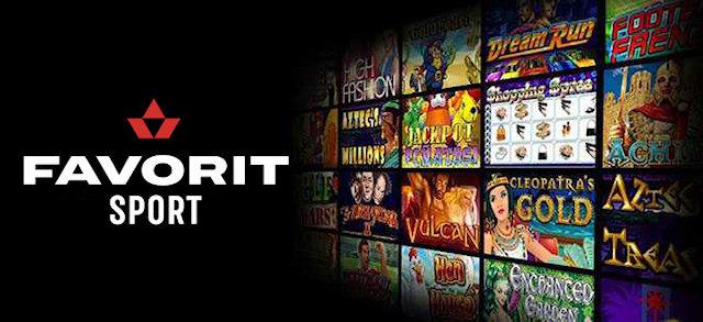 Онлайн казино Фаворит – доступный интерфейс сайта и мобильное приложение