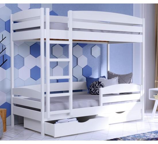 Приобрести двухъярусную кровать из бука