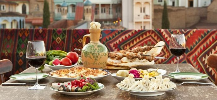 Неизменная популярность грузинской кухни